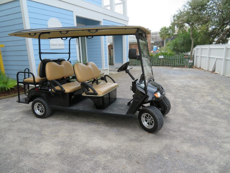 Find golf cart rentals near me in 30A and Destin to PCB.